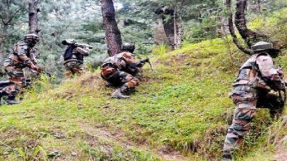 जम्मू के कंगन इलाके में हथियार बरामद, मौके से भागे आतंकी