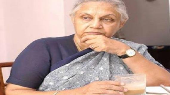 शीला दीक्षित नहीं होंगी कांग्रेस से सीएम पद की दावेदार