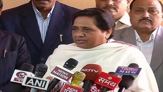 भाजपा के खिलाफ संसद के अन्दर और बाहर जारी रहेगी लड़ाई: मायावती