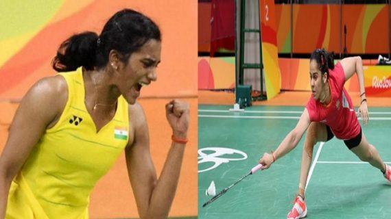 चीन ओपन सुपर सीरीज के बैडमिंटन टूर्नामेंट में सायना हारीं, सिंधू की जीत