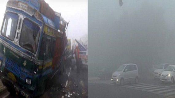 बिहार में कोहरे का बरपा कहर, सड़क हादसों में तीन लोंगो की मौत