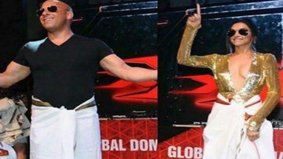 हॉलीवुड के शाहरुख बने विन डीजल…दीपिका के साथ किया 'लुंगी डांस'