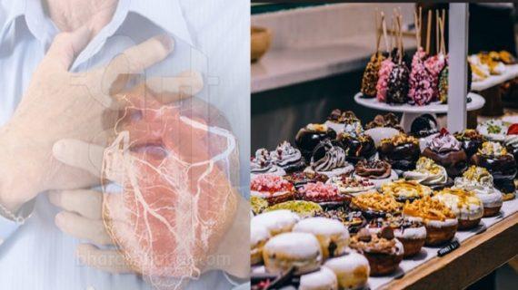 मीठा खाने पर हो सकते हैं दिल की बीमारियों के शिकार