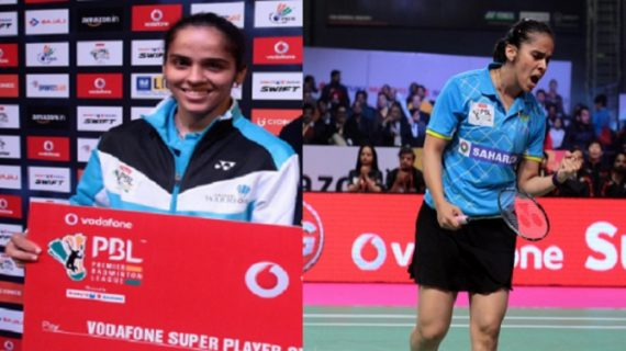 पीबीएल में छाई सायना, दिल्ली एसर्स को 6-1 से हराया