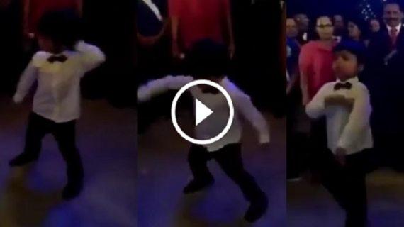 वीडियो में देखें शिल्पा के बेटे ने रणवीर को डांस में कैसे किया फेल