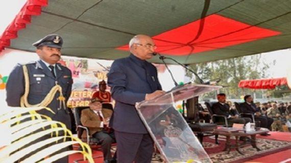 शहीद परिवारों की देखभाल के लिए हमेशा आगे रहेगी सरकार: राज्यपाल