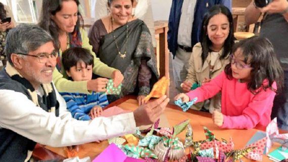 कैलाश सत्यार्थी के घर से नोबेल पुरस्कार हुआ चोरी