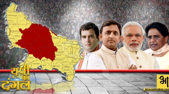 चुनावी दंगल पर विशेष- मध्य उत्तर प्रदेश का चुनावी दंगल
