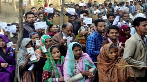 चरखारी के एक गांव ने बनाया रिकार्ड, 1 बजे तक किया 80% मतदान
