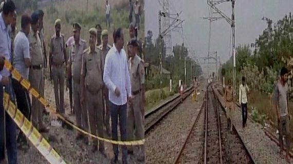 संत कबीर नगर में रेलवे ट्रैक के पास मिले 4 जिंदा बम, धमाके में एक घायल