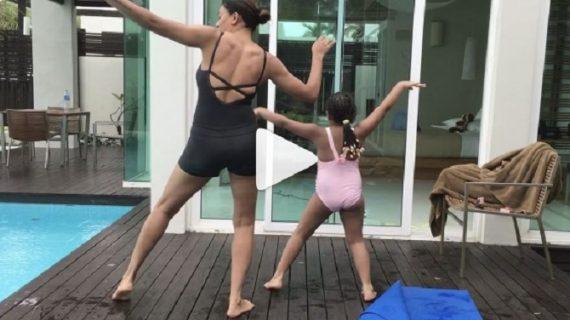 सोशल मीडिया पर छाया सुष्मिता का बेटी संग बूटी डान्स…