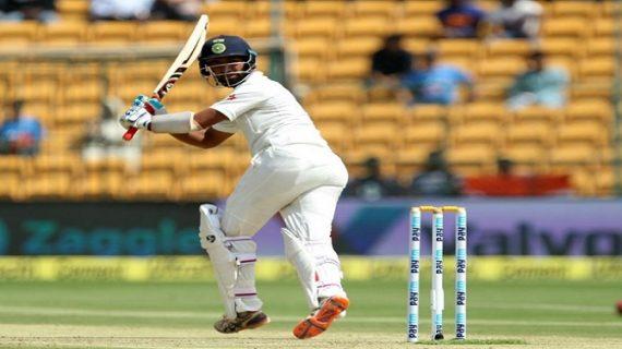 बेंगलुरु टेस्ट : लंच तक भारत ने 2 विकेट पर 72 रन बनाये