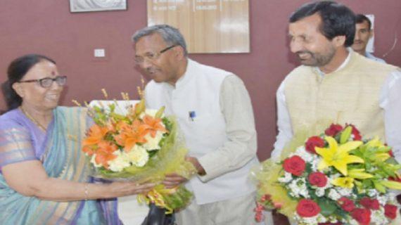 मुख्यमंत्री ने डॉ. इंदिरा हृदयेश को नेता प्रतिपक्ष बनने पर दी बधाई
