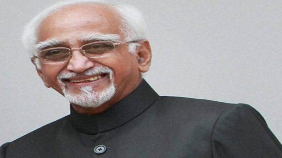 प्रधानमंत्री मोदी ने अंसारी को जन्मदिन पर दी बधाई