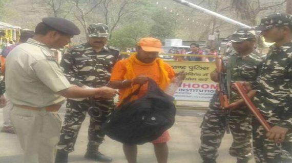 भारत-नेपाल बॉर्डर पर पुलिस ने चलाया चैकिंग अभियान
