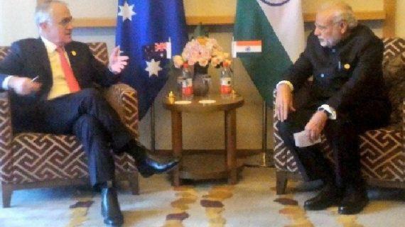 ऑस्ट्रेलिया के प्रधानमंत्री माल्कॉल्मे चार दिनों की यात्रा पर पहुंचे भारत