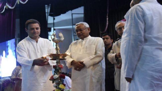 गांधी के आदर्शों को अपनाने और आत्मसात करने की जरुरत : नीतीश