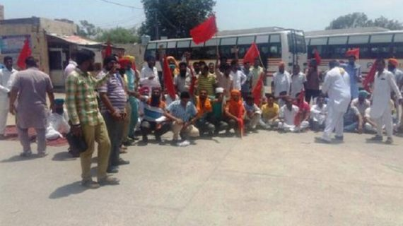 निजी बसों को परमिट दिए जाने के विरोध में रोडवेज की हड़ताल चौथे दिन जारी
