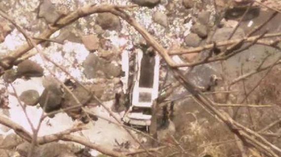 टॉन्स नदी में बस गिरने से हुई 43 लोगों की मौत