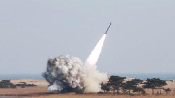 नॉर्थ कोरिया की US के खिलाफ एक और नापाक कोशिश,चेतावनी के बाद दागी बैलेस्टिक मिसाइल
