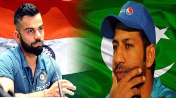 मुकाबले से पहले पाक-भारत खिलाड़ियों में जंग, कोहली के बाद सरफराज का वार