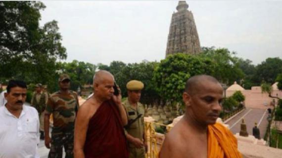 महाबोधि मंदिर की सुरक्षा का जिम्मा सीआईएसएफ को सौंपा गया