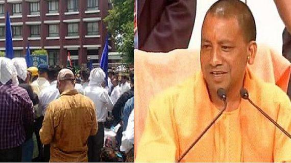 सहारनपुर हिंसा को लेकर योगी का बड़ा एक्शन