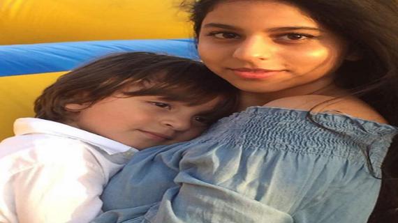 शाहरुख खान के बेटे ने मनाया अपना जन्मदिन