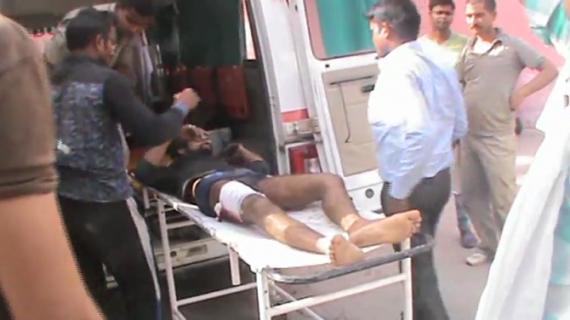 बदमाशों ने दिन दहाड़े युवक पर दागी गोली