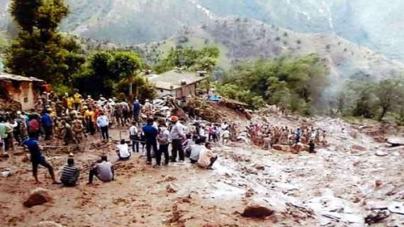 मौसम की करवट ने पहाड़ों पर मचाया तांडव, कई घर हुए क्षतिग्रस्त