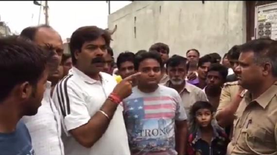 मस्जिद निर्माण की रोक पर बीजेपी कार्यकर्ताओं ने खोला मोर्चा