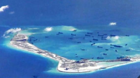 साउथ चाइना सी के विवादित आइलैंड पर रॉकेट लॉन्चर्स तैनात