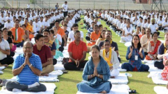 राजस्थान के राज्य मंत्री योगा के दौरान हुए सीएम के गुस्से का शिकार