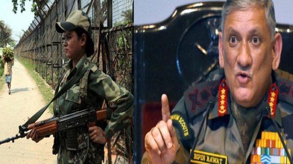 जल्द ही लड़ाकू भूमिका में सेना का हिस्सा बनेंगी महिलाएं: आर्मी चीफ रावत