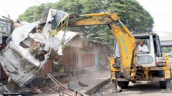 दून शहर को अतिक्रमणमुक्त करने पर व्यापारियों ने किया विरोध