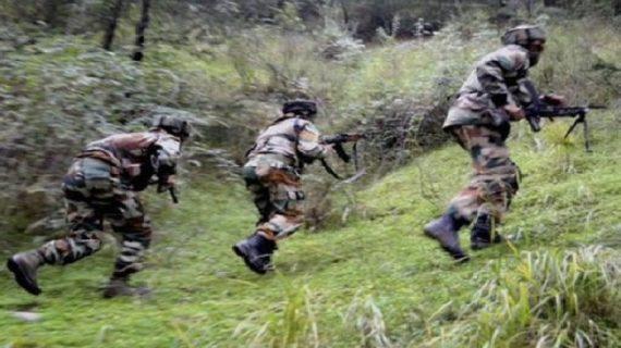 नागालैंड में हुई आतंकी मुठभेड़ में तीन उग्रवादी ढेर, एक सैनिक भी शहीद
