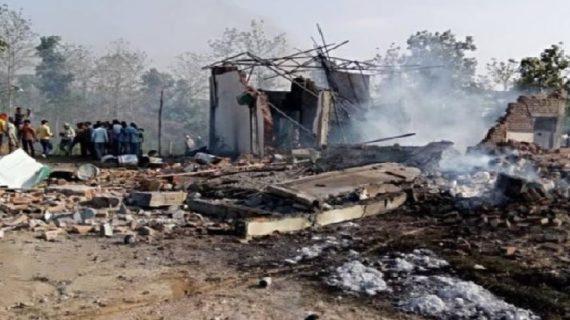 मध्यप्रदेश: अवैध पटाखा फैक्ट्री में धमाके से 23 लोगों की मौत