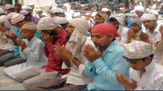 रोजेदारों ने एहतराम के साथ अदा की रमजान के आखिरी जुमें की नमाज