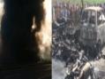 पाकिस्तान: तेल टैंकर पलटने से हुआ विस्फोट, 125 की मौत