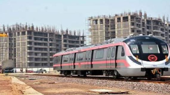दिल्ली मेट्रो: पिंक लाइन मेट्रो पर ट्रायल शुरू