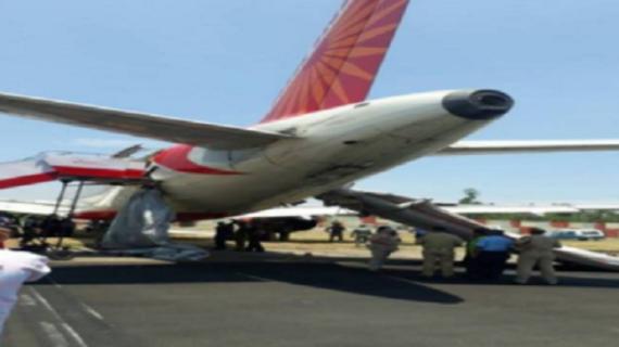 पटना एयरपोर्ट पर बड़ा विमान हादसा टला ,विमान में मौजूद थे 174 यात्री