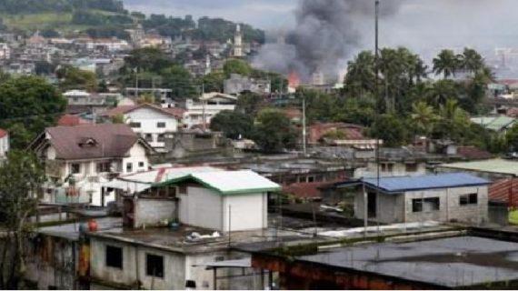 गलती से अपने ही सौनिकों पर फिलीपीनी एयर जेट ने गिराया बम