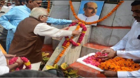 उत्तर प्रदेश के राज्यपाल राम नाईक ने दी डॉ. श्यामा प्रसाद मुखर्जी को श्रद्धांजलि