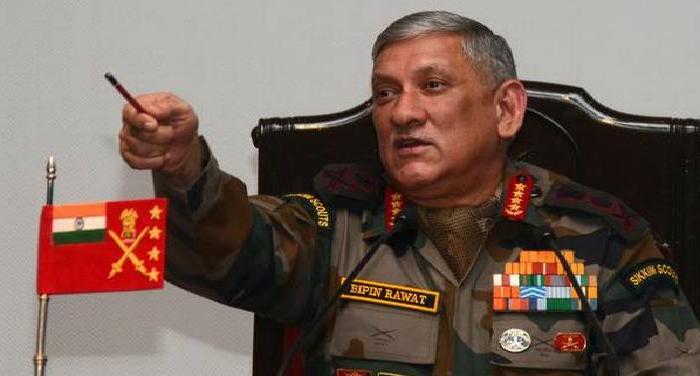 sd 1 चीन-भारत गतिरोध के बीच सेना प्रमुख जाएंगे सिक्किम