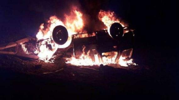 खूनी संघर्ष: रायबरेली में 5 लोगों की कार के अंदर जिंदा जलकर मौत