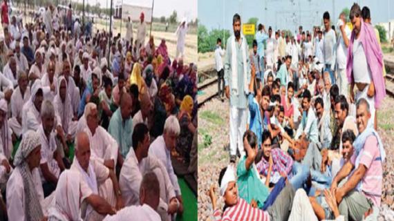 यूपी तक पहुंची राजस्थान जाट आंदोलन की आग, जाटों ने बसों में की तोड़फोड़