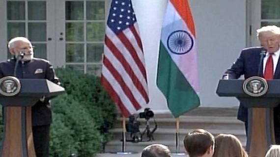 मोदी-ट्रंप का आतंकवाद पर साझा बयान, मोदी ने ट्रंप को दिया भारत आने का न्योता