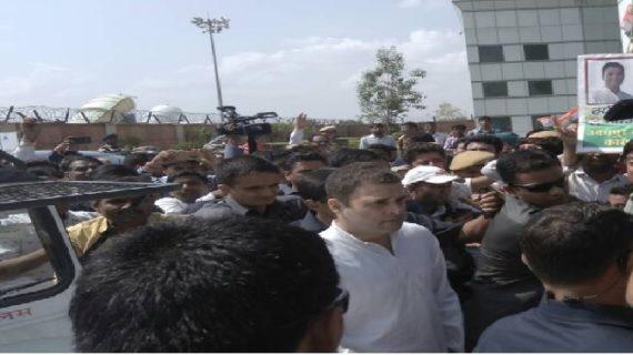 उदयपुर के रास्ते मंदसौर में एंट्री करेंगे राहुल, sp और कलेक्टर का तबादला