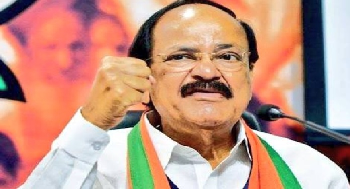 BJP, dignity, mother, Vice President, M Venkaiah Naidu, Parliament House