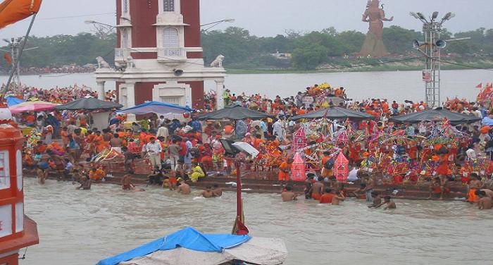 kavaniya, Crowds ,increase, Haridwar,